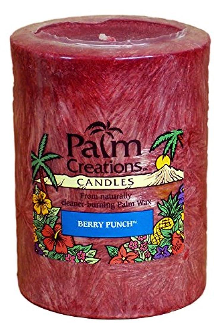 発音する閉塞突破口Nature 's Finest Palm Creationsピラーキャンドル4