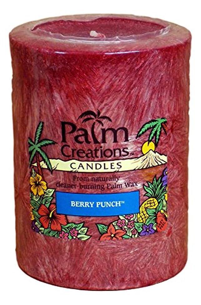 おもてなしヤングぬるいNature 's Finest Palm Creationsピラーキャンドル4