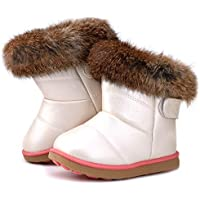 Femizee Unisex-Child Girls Boys Winter Boots