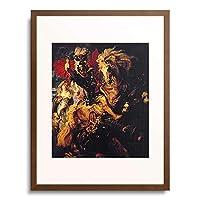 ピーテル・パウル・ルーベンス Peter Paul Rubens 「St. George and the Dragon. 1606/10」 額装アート作品