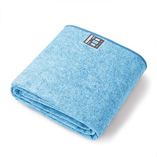 MyeFoam 除湿シート 湿気取り 寝具用 防湿 除湿マット シリカゲル入り すのこベッド 布団マット ベッドパッド 敷きパッド すのこマット 防ダニ・防カビ・防臭加工 吸湿センサー付き シングル 90×190cm