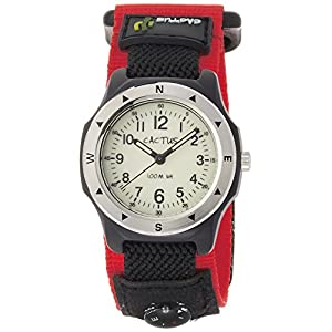 [カクタス]CACTUS キッズ腕時計 蓄光ダイヤル 10気圧防水 簡易コンパス付 CAC-65-M07 ボーイズ 【正規輸入品】