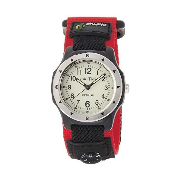 [カクタス]CACTUS キッズ腕時計 蓄光ダイ...の商品画像