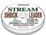 モーリス(MORRIS) ショックリーダー バリバス ストリーム ナイロン 30m 3.5号 14lb ブラウン