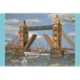 1000ピース ジグソーパズル ロンドンのタワーブリッジ (50x75cm)