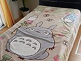 【となりのトトロ 大人サイズ】シープボア毛布 140×200cm 「いちご見つけた」 洗える キャラクターブランケット スタジオジブリ