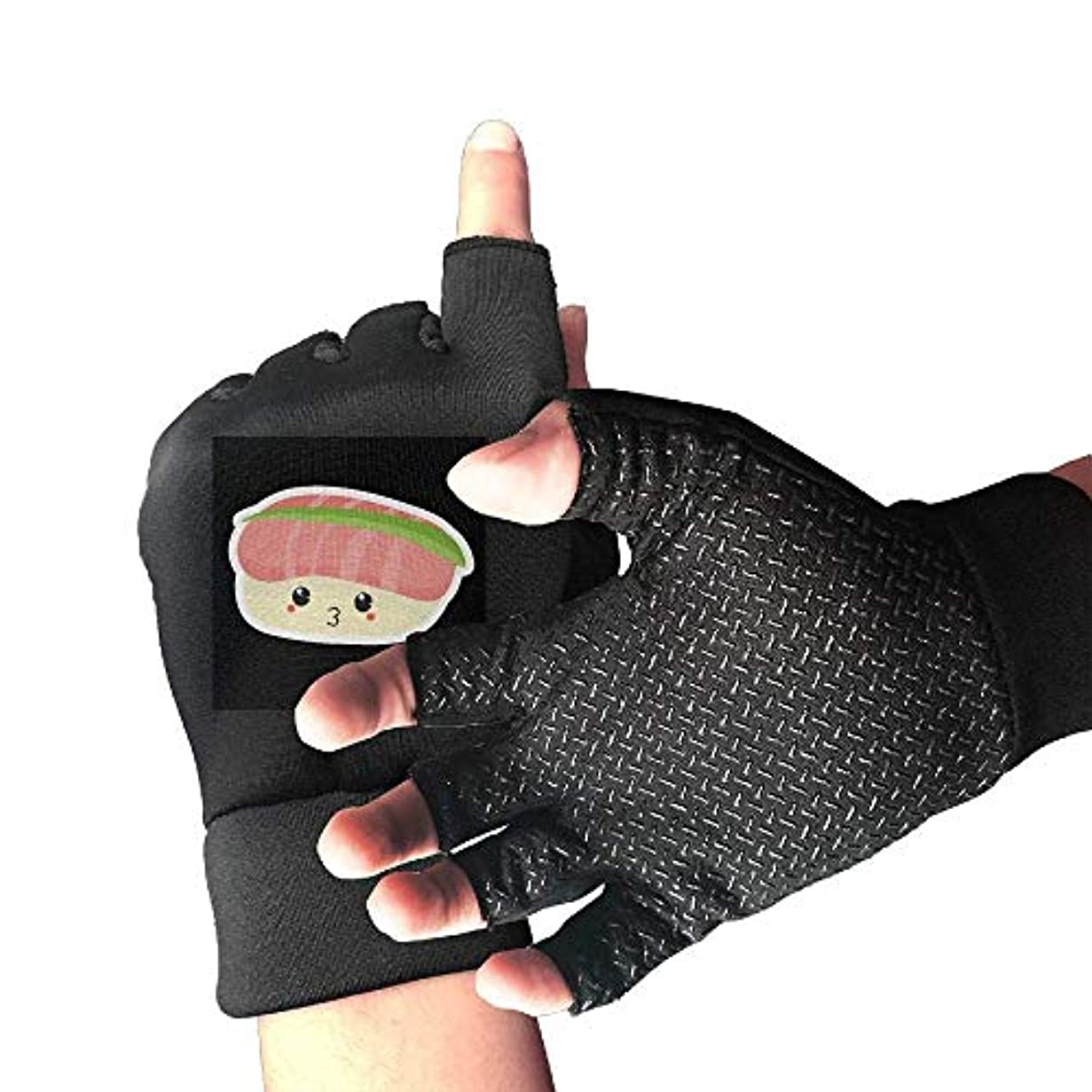 メッシュ規範引き出すCycling Gloves Meat Sushi Men's/Women's Mountain Bike Gloves Half Finger Anti-Slip Motorcycle Gloves