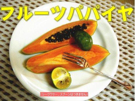 沖縄県産フルーツパパイヤ 4kg