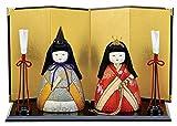 しあわせ立雛 木目込み雛人形 材料セット(手芸材料・人形キット)
