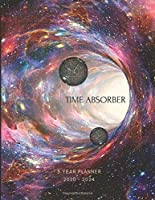 2020-2024 Five Year Planner Monthly Calendar Outer Space Wormhole Goals Agenda Schedule Organizer: 60 Months Calendar; Appointment Diary Journal With Address Book, Password Log, Notes, Julian Dates & Inspirational Quotes