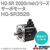 三菱電機 HG-SR352B サーボモータ HG-SR 2000r/minシリーズ 200Vクラス 電磁ブレーキ付き (中慣性・中容量) (定格出力容量 3.5kW) NN
