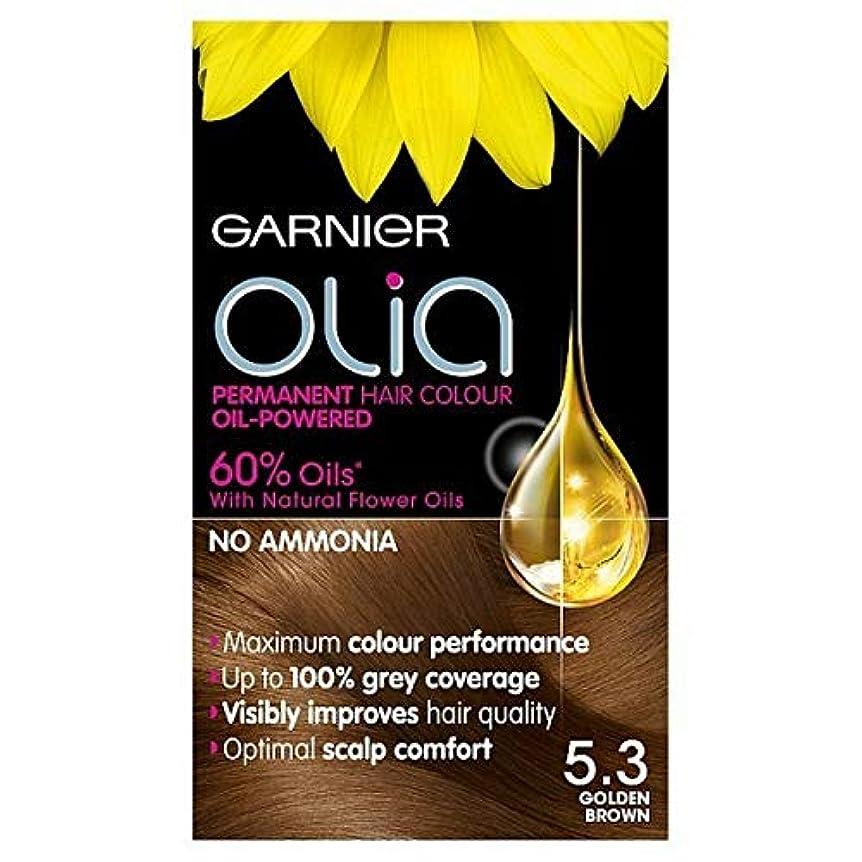 恐怖症ミスペンドメニュー[Garnier ] 5.3キツネ色ガルニエOliaパーマネントヘアダイ - Garnier Olia Permanent Hair Dye Golden Brown 5.3 [並行輸入品]