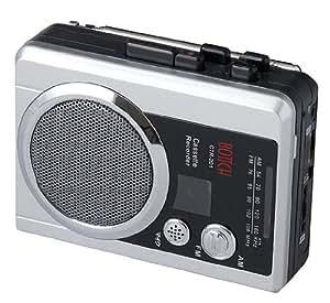 ELPA ラジオ付カセットレコーダー CTR-201
