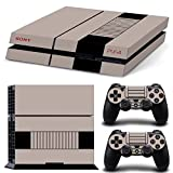 GoldenDeal PS4 Console and DualShock 4 Controller Skin Set - Original Retro Console - PlayStation 4