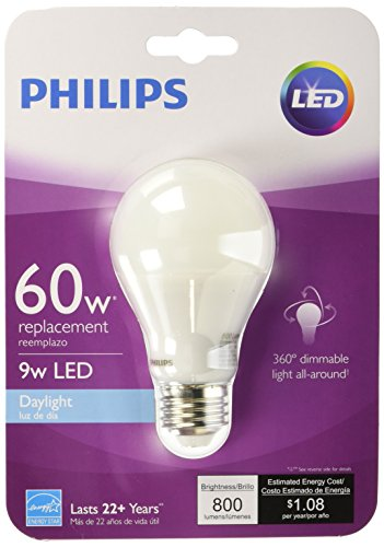 フィリップス 9ワットLEDデイライトライト電球