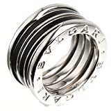 (ブルガリ)BVLGARI 銀座限定 4バンド ビーゼロワン リング・指輪 K18ホワイトゴールド メンズ 中古