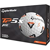 TAYLOR MADE(テーラーメイド) TP5x pix(ティーピーファイブエックス ピックス) ゴルフボール 5ピース 2021年モデル N0803301 ホワイト