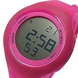 PUMA 時計 プーマ タイム PUMA ループ トランスペアレント 腕時計 PU910801025 ピンク[並行輸入品]