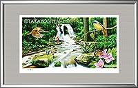 イメージアート『四季』《滝》額: YFM-M10号(33.3×53.0cm)・ジクレー版画