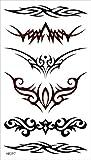 タトゥーシール 長持ち ボディーシール・刺青シール トライバル TATTOO /hm397/