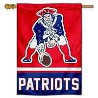 新しいEngland Patriots Pat Patriot Two Sided House Flag