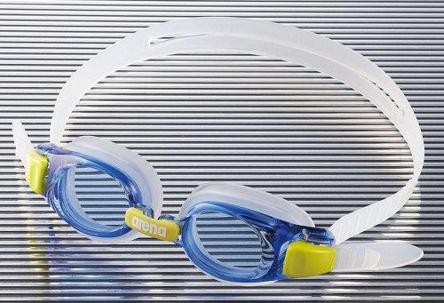 arena(アリーナ) くもり止めジュニアスイムグラス BLUブルー×ブルー AGL-5100J