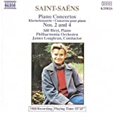 Piano Concerti 2 & 4 by SAINT-SAENS (1994-02-15)