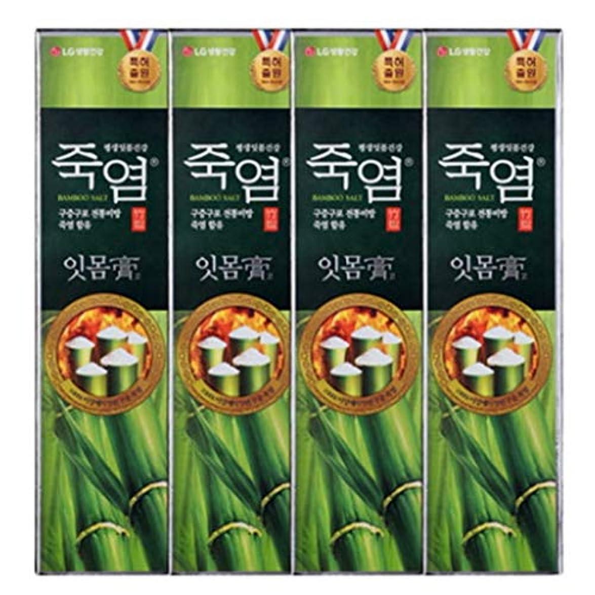 再発する湿地割合[LG Care/LG生活健康]竹塩歯磨き粉歯肉を健康に120g x4ea / 歯磨きセットスペシャル?リミテッドToothpaste Set Special Limited Korea(海外直送品)