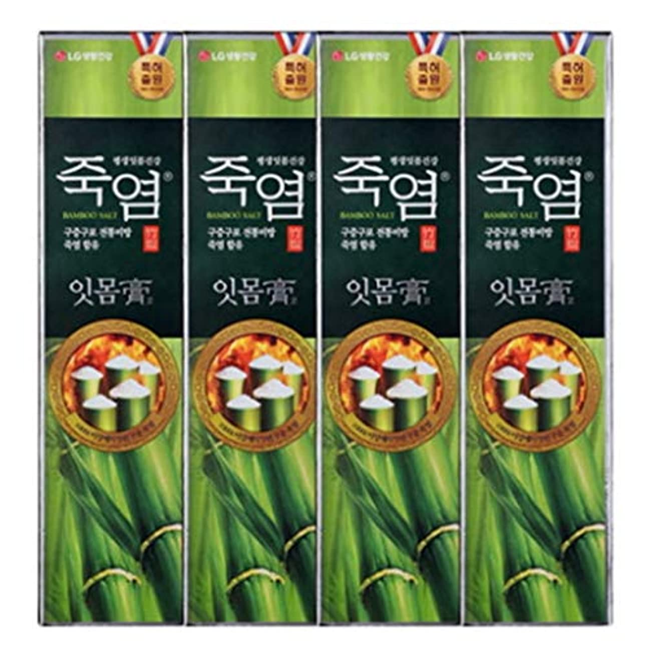 擬人革命的薬局[LG Care/LG生活健康]竹塩歯磨き粉歯肉を健康に120g x4ea / 歯磨きセットスペシャル?リミテッドToothpaste Set Special Limited Korea(海外直送品)
