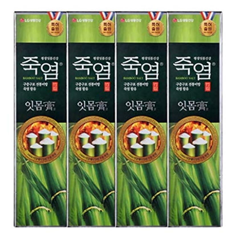 反論命令的取り替える[LG Care/LG生活健康]竹塩歯磨き粉歯肉を健康に120g x4ea / 歯磨きセットスペシャル?リミテッドToothpaste Set Special Limited Korea(海外直送品)