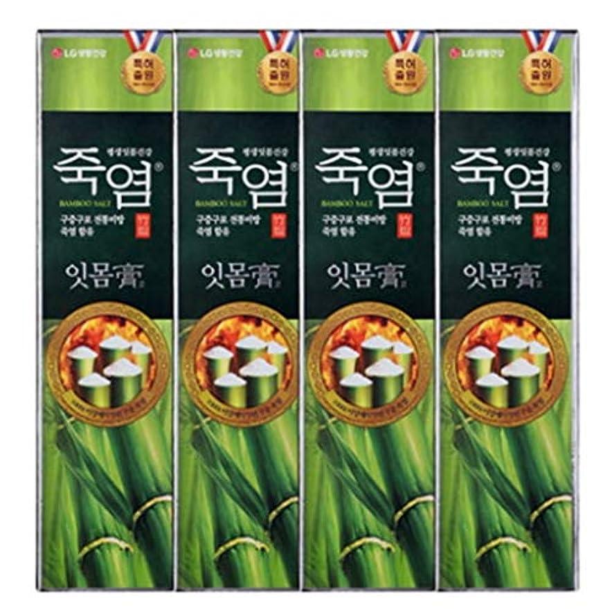 援助開発適応する[LG Care/LG生活健康]竹塩歯磨き粉歯肉を健康に120g x4ea / 歯磨きセットスペシャル?リミテッドToothpaste Set Special Limited Korea(海外直送品)