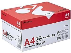 コピー用紙 A4 コピーペーパーEX 高白色 5000枚 (500×10)