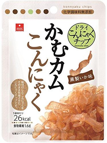 かむカムこんにゃく 薫製いか味 10g×5