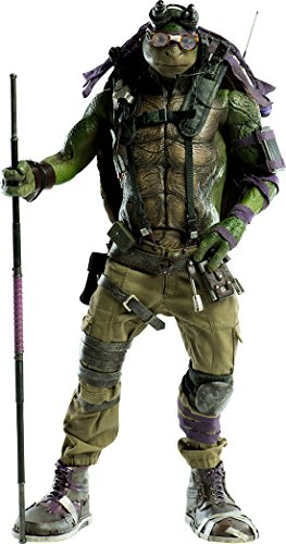 Teenage Mutant Ninja Turtles: Out of the Shadows - DONATELLO 1/6スケール ABS&PVC&POM製 塗装済み可動フィギュア