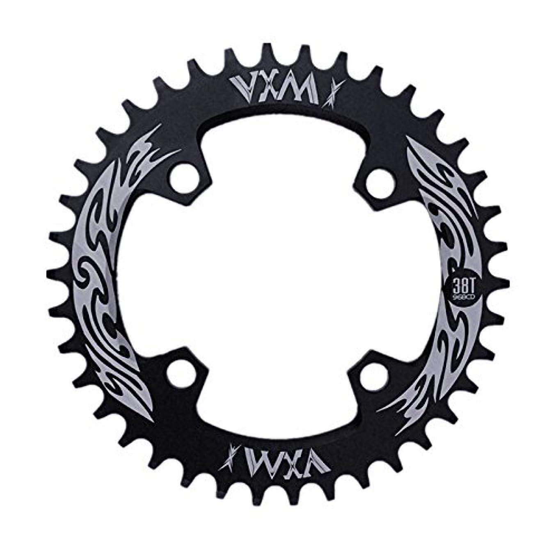 裁判官コンクリート疑わしいPropenary - Bicycle Crank & Chainwheel 96BCD 38T Ultralight Alloy Bike Bicycle Narrow Wide Chainring Round Chainwheel...