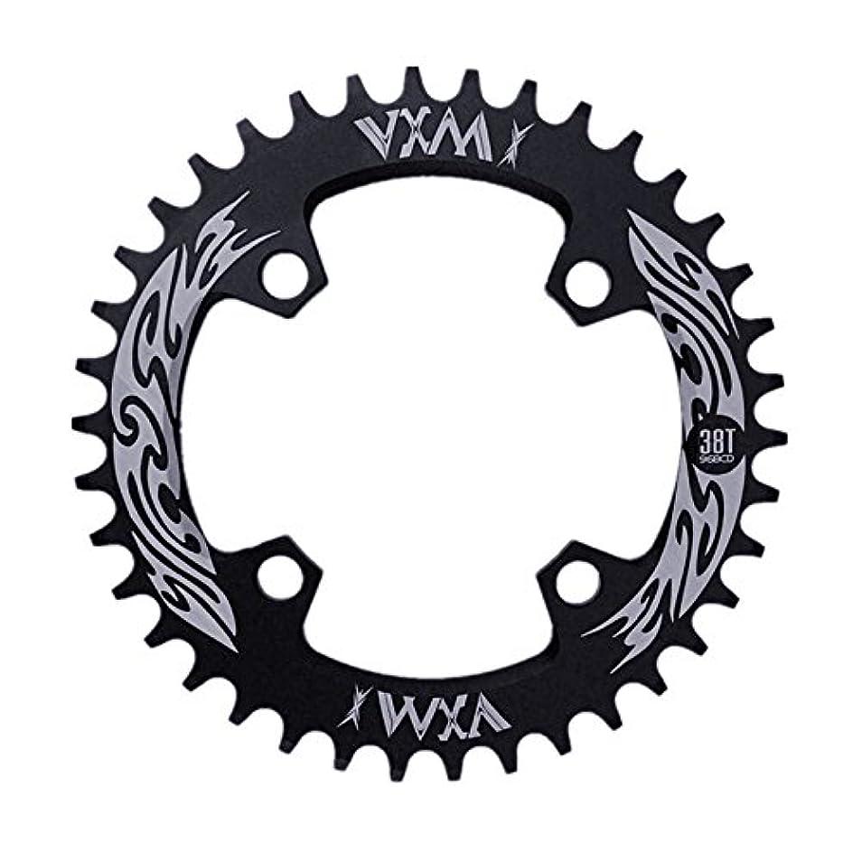 虚栄心うなり声バスPropenary - Bicycle Crank & Chainwheel 96BCD 38T Ultralight Alloy Bike Bicycle Narrow Wide Chainring Round Chainwheel...