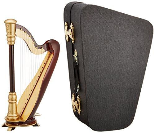 [해외]SUNRISE SOUND HOUSE 선 라이즈 사운드 하우스 미니어처 악기 하프/SUNRISE SOUND HOUSE Sunrise Soundhouse Miniature Musical Instrument Harp