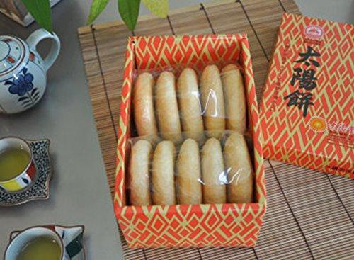 《太陽堂老店》傳統太陽餅・10入(伝統のタイヤンピン) 《台湾 お取り寄せ土産》 [並行輸入品]