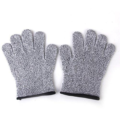 【ノーブランド品】切れない手袋、防刃手袋、耐刃手袋、防刃グローブ、安全手袋、特殊機能手袋、作業用グローブ/ Mサイズ