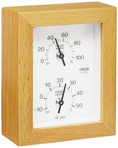 クレセル クレセル 温度計・湿度計 CR-650W(1コ入)