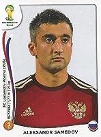 FIFA World Cup 2014 Alekdandr Samedov Sticker No.616