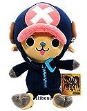 One Piece Film Gold Ver, Black Tony Chopper Authentic Stuffed Plush Doll 25cm
