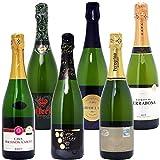 本格シャンパン製法だけの厳選泡6本セット750mlx6本ワインセット