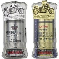 NAKARAI バイク用メッキ保護剤+錆び取り剤セット 汚れ拭きクロス付 メッキング + サビトリキング バイク オートバイ 二輪 メンテナンス