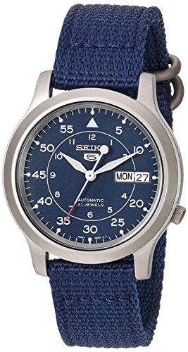 [セイコーインポート] SEIKO import 腕時計 海外モデル メッシュベルト 自動巻き ミリタリー ネイビー SNK807K2 メンズ [逆輸入品]