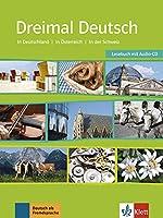 Dreimal Deutsch NEU: Lesebuch & Audio-CD