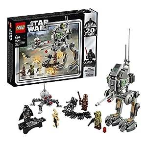 レゴ(LEGO) スター・ウォーズ クローン・スカウト・ウォーカー(TM) – 20周年記念モデル 【復刻版 ダース・ベイダーのミニフィギュア付き】 75261