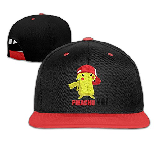Pikachu Pokemon Go YoパーソナライズBoy Girl Kidヒップホップ野球帽子コットンキュート