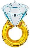 Passion list 結婚 撮影 小物 大きい 風船 指輪 バルーン 誕生日 (54cm)