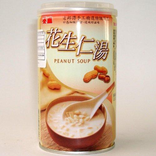 泰山 花生仁湯24缶/ケース【ピーナッツスープ】台湾産落花生スープ/缶詰